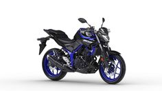 2018 Yamaha MT-03 in Race Blue