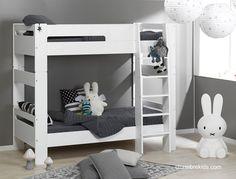 Lit superposé enfant London Blanc http://www.chambrekids.com/s/27978_105898_lit-superpose-mezzanine-enfant-blanc-pas-cher-london 524€