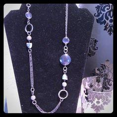 Lia Sophia retired TINSEL Necklace #33321 $130.  Bonus item $20 from a return on 10/18/2011.