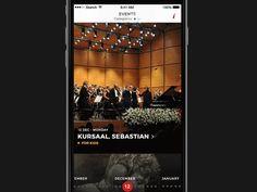 Philharmonic orchestra event detail by Grzegorz Oksiuta