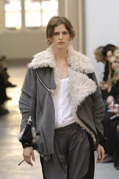 shearling aviator jacket (fr 40) • nicolas ghesquière for balenciagaUS $3,800.00 BIN/OBO