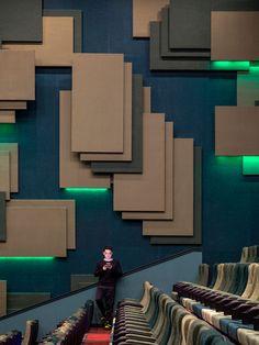 Cinema Theatre, Changsha, Auditorium, Design Awards, Creative Inspiration, Design Elements, Mall, Projects, Pattern