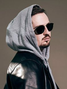 Singer Robin Schulz is looking awesome in this remarkable outfit made by real leather in an attractive black color. The Album Uncovered is famous for Robin Robin, David Guetta, Singer Fashion, Believe, Album, Real Leather, Dj, Mens Sunglasses, Songs