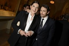 Abramovic. (With James Franco at The Metropolitan Museum's Annual Costume Institute Gala, May 7, 2012.)