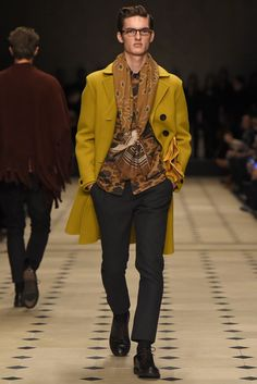 Burberry Prorsum Men's RTW Fall 2015 [Photo by Giovanni Giannoni]