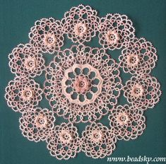 tatting | Tatting gallery - page 2 of 9. Pattern $8.00 from beadsky.com.