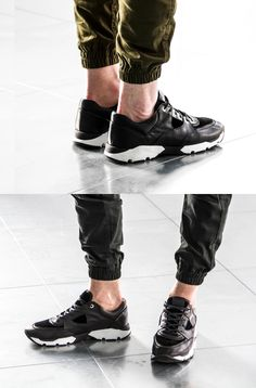 Android Homme 2015 Spring/Summer Belter Black Raw  The footwear brand is making a comeback with a new silhouette.