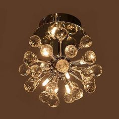 Masione™ Crystal Chandelier with 6 Lights Pendant Lamp Ceiling Light Fixture in Globe Shape Masione http://www.amazon.com/dp/B00L51B0VQ/ref=cm_sw_r_pi_dp_vHOdub16247C8