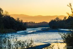 #piave #river #sunset #belluno #veneto #italy  Blog | giamp.info | creative solutions 2.0