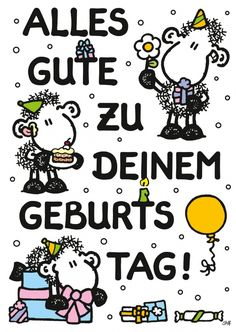 Alles Gute zu Deinem Geburtstag! | sheepworld | Echte Postkarten online…