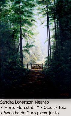 Horto Florestal II - Sandra L. Negrão - 2005. Imagem do acervo do APHRC