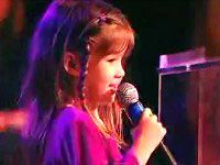 "Very talented  6 Year Old,   Kaitlyn Maher sings  ""I can see clearly now""  ~   a  happy song to bring you joy  ~  ♥"