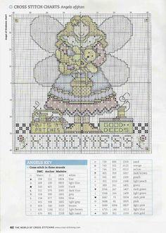 Gallery.ru / Фото #7 - The world of cross stitching 108 март 2006 - tymannost