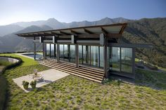 Tom Kundig: Montecito Residence.    - a reminder of the power of simplicity and raw tectonic quality.