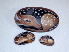 Deer bambi whitetail fawn woodland doe forest by RockArtiste,