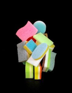 Artist Uses Household Sponges to Create Inspiring Architectural Shapes | Junkculture