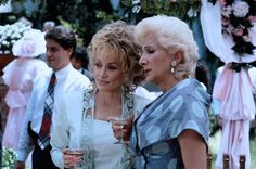 Steel Magnolias (1989) starring Julia Roberts, Dolly Parton and Sally Field, stage play written by Robert Harling