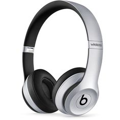 Beats by Dr. Dre Solo2 Wireless Headphones found on Polyvore featuring space grey and beats by dr. dre