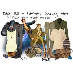 Favorite Disney Heroes - Jim & Milo!