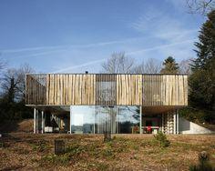 une maison pont aven dans le finistre - Maison Moderne Beton