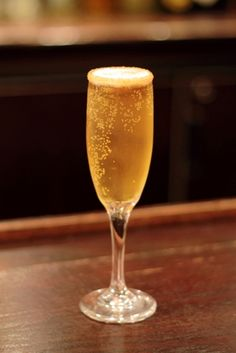 Recipes: Champagne Cocktails for New Year's Eve