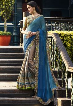 """The pure modernist is merely a snob; he cannot bear to be a month behind the fashion.""  #sarees #ethinicwear #bridalwear #available #worldwideshipingavailable"