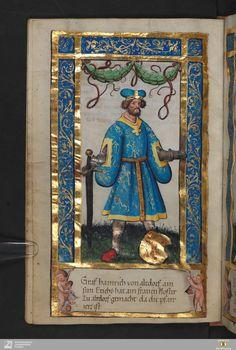 Weingartner Stifterbüchlein - Cod.hist.qt.584 Untertitel Historia Guelphica cum Iconibus, In fine Historia Ss. Sanguinis Paralleltitel Weingartner Stifterbüchlein - Cod.hist.qt.584 Erscheinungsort Weingarten Erscheinungsjahr [um 1510; ältere Textteile Ende 12. Jahrh. und 1487] Besitzer des Digitalisats Württembergische Landesbibliothek URN urn:nbn:de:bsz:24-digibib-bsz3802919405 Persistente URL http://digital.wlb-stuttgart.de/purl/bsz380291940