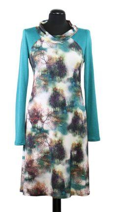 Bei Schnittquelle finden Sie Schnittmuster - wie z.B. Kleid Elva die einfach zu nähen und raffiniert zugleich sind.