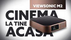 Cinema la tine acasă cu ViewSonic M2 Justice League, Film, Apple Tv, Netflix, Cinema, Tech, Pretty, Movie, Films