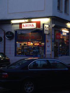 Kiosk - Büdchen auf der Schützenstrasse