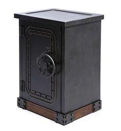 Mueble Auxiliar Vintage Caja Fuerte