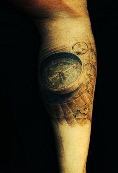 tatuagem bussola costas - Pesquisa Google