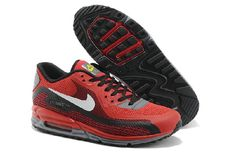 pretty nice b7227 3798a Hot sale New Air Max 90 Lunar Womens Shoes Red Black Online in stock. We  wholesale popular air max 1 black and breathable air max 90 sale. Buy Nice nike  air ...