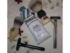 Brushes, Razors and Cream $50.00