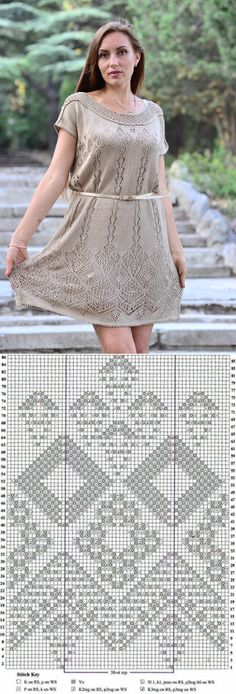Платье шетландскими мотивами схемы. Платье шетландское кружево |