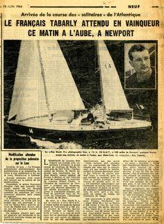 Il y a 50 ans, Tabarly faisait la Une