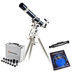 Celestron Omni Bundle features the stable platform of the mount and high quality optics. Gifts For Boss, Focal Length, Telescope, Platform, Heel, Wedge, Heels