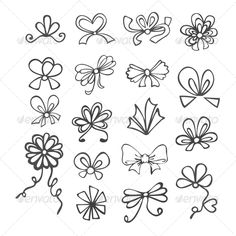 Set of Black and White Ribbons set of black and white contours ribbons, bows for gift Created: GraphicsFilesIncluded: JPGImage Layered: No MinimumAdobeCSVersion: CS Tags: accessory Black And White Ribbon, Clipart Black And White, Black And White Drawing, Black N White Images, Tattoo Stencils, Stencil Art, Bow Drawing, Tracing Art, Line Doodles