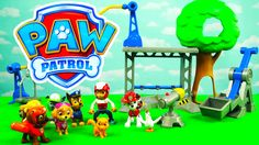 Paw Patrol Adventures Training Day For The Pup with Precious and Chickal...