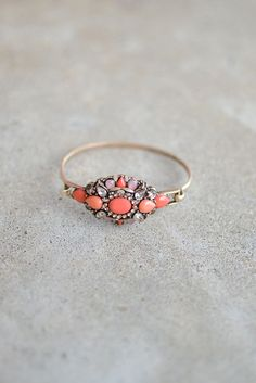 Conch Bracelet - Coral from Page 6 Boutique