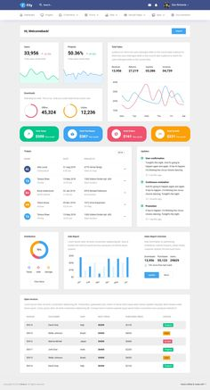 Buy Fily - Responsive Bootstrap Admin Template by bootstrapdashHQ on ThemeForest. Fily – Responsive Bootstrap Admin Template Fily is a highly-responsive, user-friendly, and feature-rich Bootstrap ad. Excel Dashboard Templates, Dashboard Interface, Analytics Dashboard, Sales Dashboard, Dashboard Design, Interface Design, Mobile Web Design, Web Design Tips, Web Design Trends