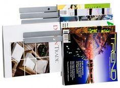 Illuzine Magazine Rack by Umbra modern magazine racks