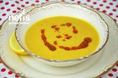 Mercimek Çorbası Tarifi Baby Food Recipes, Cooking Recipes, Wie Macht Man, Lentil Soup, Iftar, Turkish Recipes, Homemade Beauty Products, Restaurant, Lentils