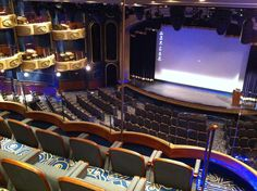 The Royal Court Theatre on board Queen Elizabeth