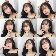 Lấy = Follow #Ẩn Korean Girl Photo, Cute Korean Girl, Cute Girl Photo, Best Photo Poses, Girl Photo Poses, Girl Poses, Teen Photography Poses, Cute Selfie Ideas, Foto Fashion