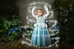 princess cinderella fairy tale photography session