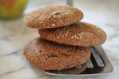 The smell and taste of these cookies- so delicious with a cup of coffee or cider and cold weather outside!