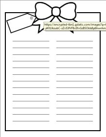 Xmas Party Planning Form  Printable Christmas Gift List Template