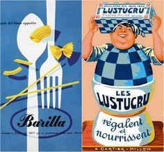 Pâtes - Affiches vintage Pâtes : quelle quantité par personne, combien de sel, d'eau et autres questions existentielles