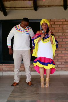 Sepedi traditional dresses African Maxi Dresses, African Attire, African Wear, Bridal Outfits, Bridal Dresses, Sepedi Traditional Dresses, African Print Fashion, African Prints, Wedding Dress Patterns